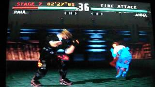 Tekken 3 - Time Attack - Paul [Hard Difficulty] thumbnail