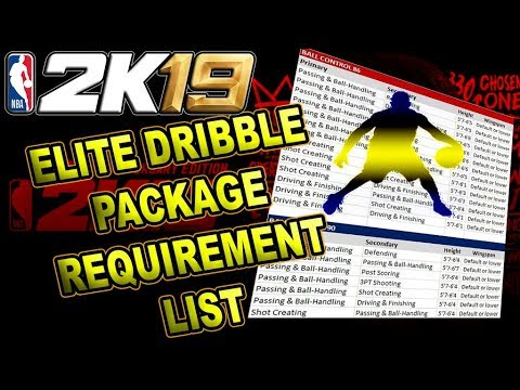 Nba  elitedribblemoves brutalsim also watch before you create myplayer requirement for dribble packages rh youtube