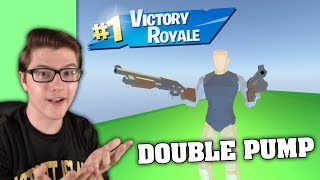I USED DOUBLE PUMP IN STRUCID! (ROBLOX FORTNITE)