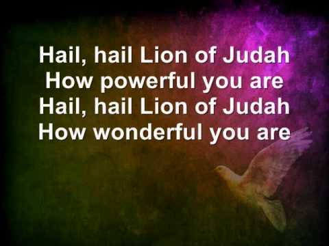 Hail lion of Judah 0001