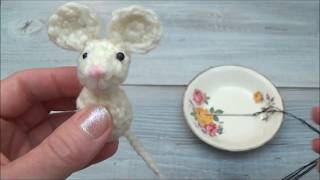 Pocket Mouse Part 8 Sew the Eyes