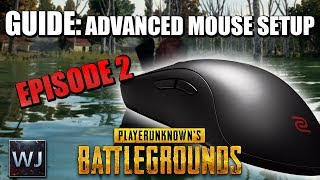 GUIDE: ADVANCED Mouse Sensitivity Setup (Ep2) - PLAYERUNKNOWN's BATTLEGROUNDS
