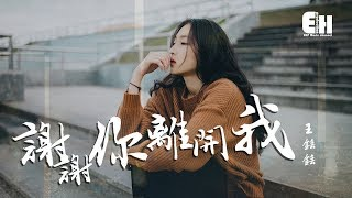王銩銩 - 謝謝你離開我『你的殘忍,讓我變了模樣。』【動態歌詞Lyrics】 thumbnail