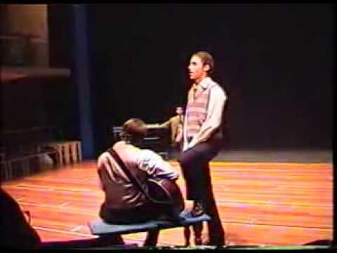 "John Buxton as Balthasar ""Much Ado About Nothing"" RADA 2001"