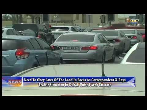 ITV Correspondent x-rays traffic situation in Dubai