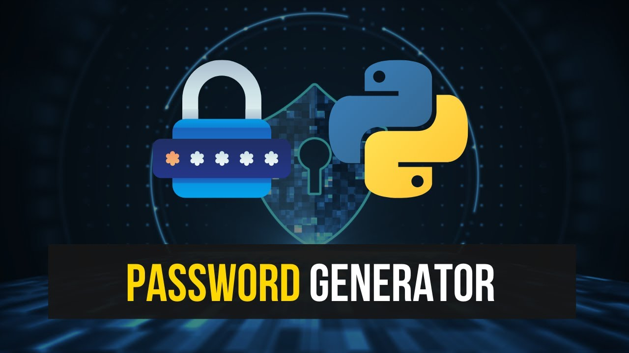 Simple Password Generator in Python