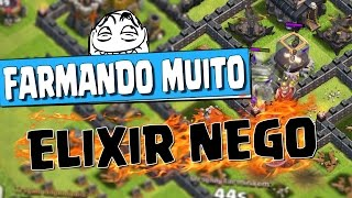 TO FARMANDO MUITO DARK !! Saiba como farmar rapidamente ELIXIR NEGRO no CV9 ‹ Clash of Clans ›