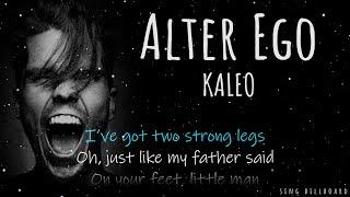 Cover images KALEO - Alter Ego (Realtime Lyrics)