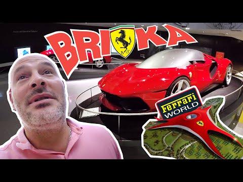 Bri4ka във Ferrari World Abu Dhabi