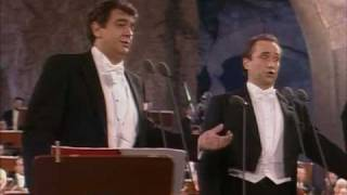 Los Tres Tenores -Mattinata- Roma 7/7/1990