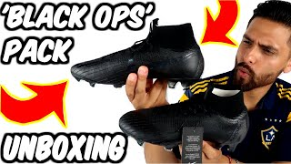 Blackout Nike Mercurial Superfly VI Elite| 'Black Ops' Pack| Stealth Ops pack | SUPERFLY 360
