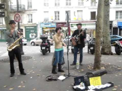 Corcovado @Place des Abbesses with Jason Kingsley Duo