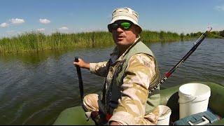 Трудовая рыбалка на карася удочкой с боковым кивком(20.06.2015)