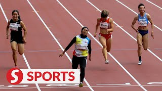 Tokyo Games women's 100m: Azreen sprints to personal best in heats, fails to qualify