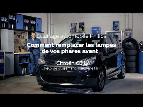 Comment remplacer les ampoules de phares de votre Citroen C3 - Philips Eclairage automobile