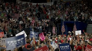 Trump holds campaign-style rally in Ohio