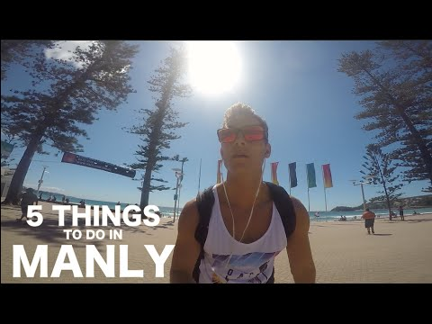 5 Things to do in MANLY - Student life semester abroad at ICMS, Australia | VLOG 00