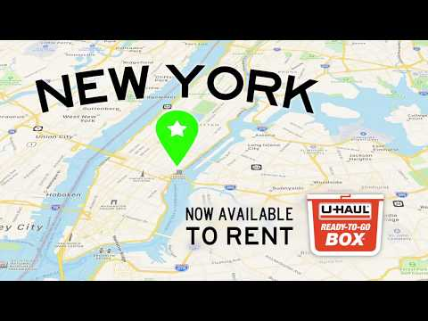Plastic Moving Box Rentals | New York, NY | U-Haul Ready-To-Go Box