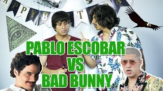 PABLO ESCOBAR VS BAD BUNNY | REACCIONANDO A TE GUSTE | Jesus Efrain