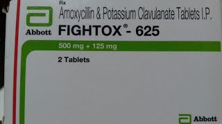 FIGHTOX - 625 Tablet Use And Side Effect Full Hindi Review