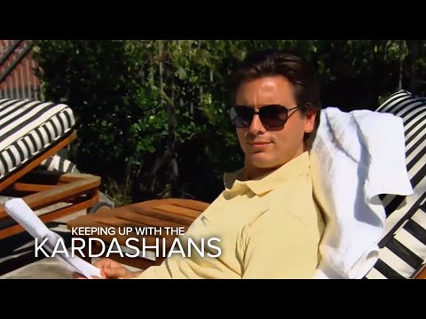 "Best ""Keeping Up With the Kardashians"" Moments of Kris Jenner & Scott Disick  E!"
