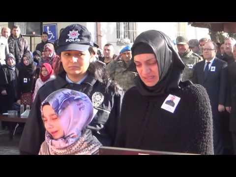 siirtvizyon com siirtte şehit polis yalçin yamaner için tören düzenlendi
