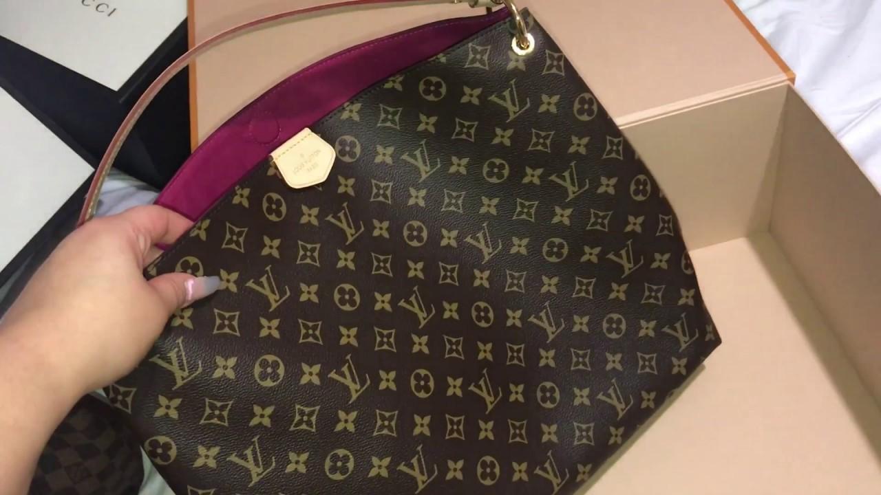 f9d4c1ab781a Graceful mm Louis Vuitton - YouTube