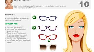 Mujeres Gafas Ideales Para Rostros Ovalados Youtube