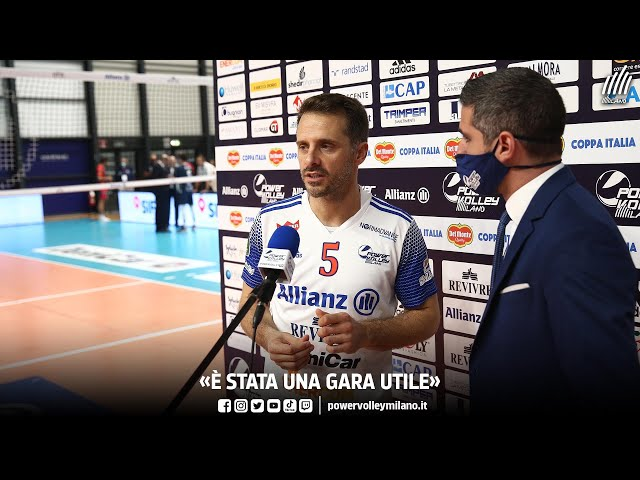 Coppa Italia, l'intervista post Milano - Monza di Nicola Daldello