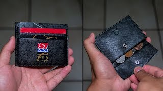 The Perfect Minimalist Wallet That Can Hold Coins?! - Ed Wallet Review