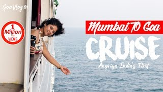 Mumbai To Goa Trip On Cruise | India