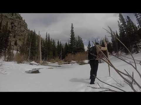 Winter in Rocky Mountain National Park - Glacier Trail