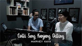 CINTA SENG KUNJUNG DATANG - MARVEY KAYA LIVE COVER BRYCE ADAM