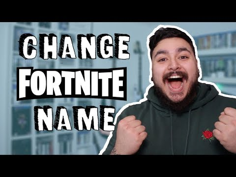 How To Change Your Fortnite Name | 2019 (PS4, Xbox, PC And Mobile)