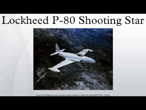 Lockheed P-80 Shooting Star