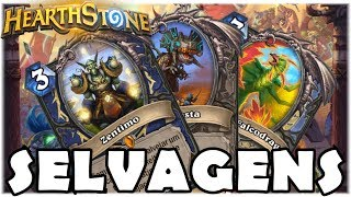 HEARTHSTONE - NOVAS LENDÁRIAS SELVAGENS! (O RINGUE DO RASTAKHAN)