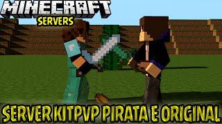Servidor Minecraft Kit PvP, 1V1/Warp FPS/Lava Challenge Pirata/Original 1.7.2 á 1.7.10