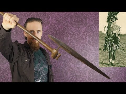 An Antique Axe from Southern Africa - Axe/Spear/Sword Hybrid?