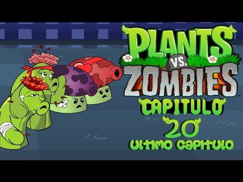 La aventura de plantas vs zombies 20 parte 1 youtube for Cuartos decorados de plants vs zombies