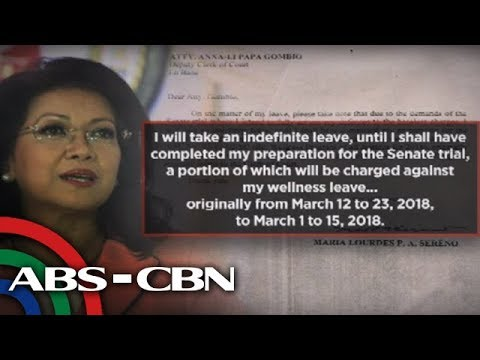 Dateline Philippines: No legal basis for Sereno's forced leave: law school group chief