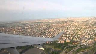 Air Canada Embraer 175 Take Off from LaGuardia Airport, New York