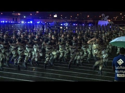 Saudi Arabia holds parade of hajj security forces