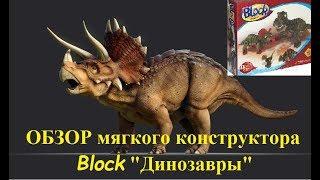 Обзор мягкого конструктора Block ДИНОЗАВРЫ