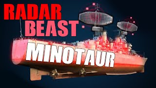 Radar Minotaur, 8 kills, (almost 9!) 3.3k PURE XP