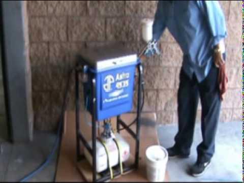 Astro Pneumatic Tool Company's 4535 - Hurri-Clean Pump-less Spray Gun Washer - Patented