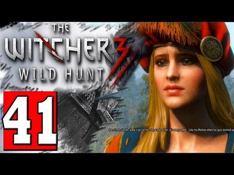 The Witcher 3 Walkthrough Part 41 Quest CABARET Let's Play Playthrough [HD] PS4 XBOX PC