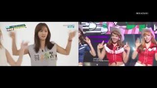 SNSD - Weekly Idol Random Dance VS Live (ENG SUB)