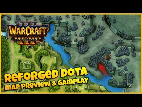 reforged-dota-map-preview-&-gameplay-|-warcraft-3-reforged