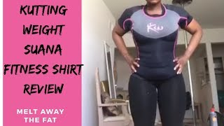 Kutting Weight Neoprene  Sauna Suit| Lose inches off your upper body