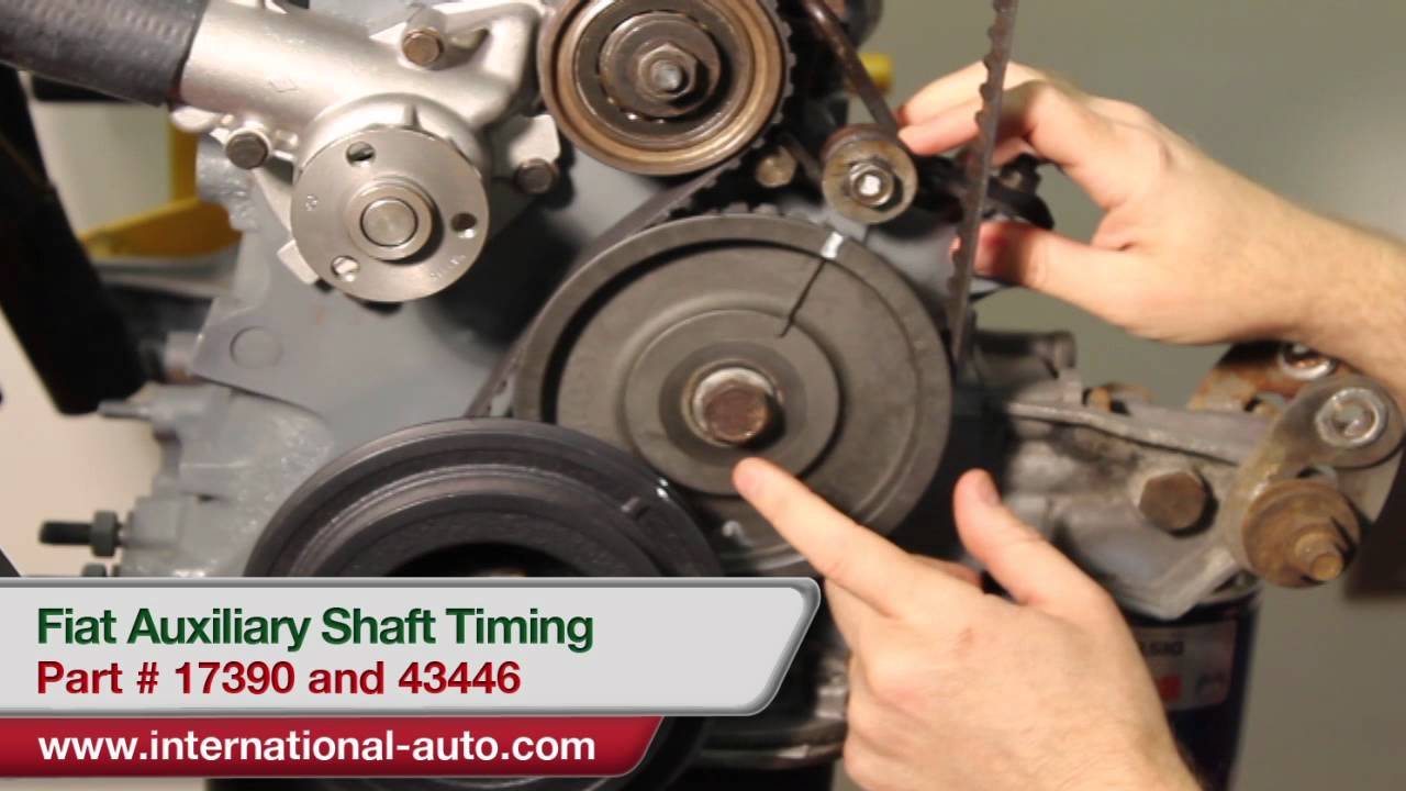 Auxiliary Shaft Timing International Auto Parts Youtube Fiat Belt
